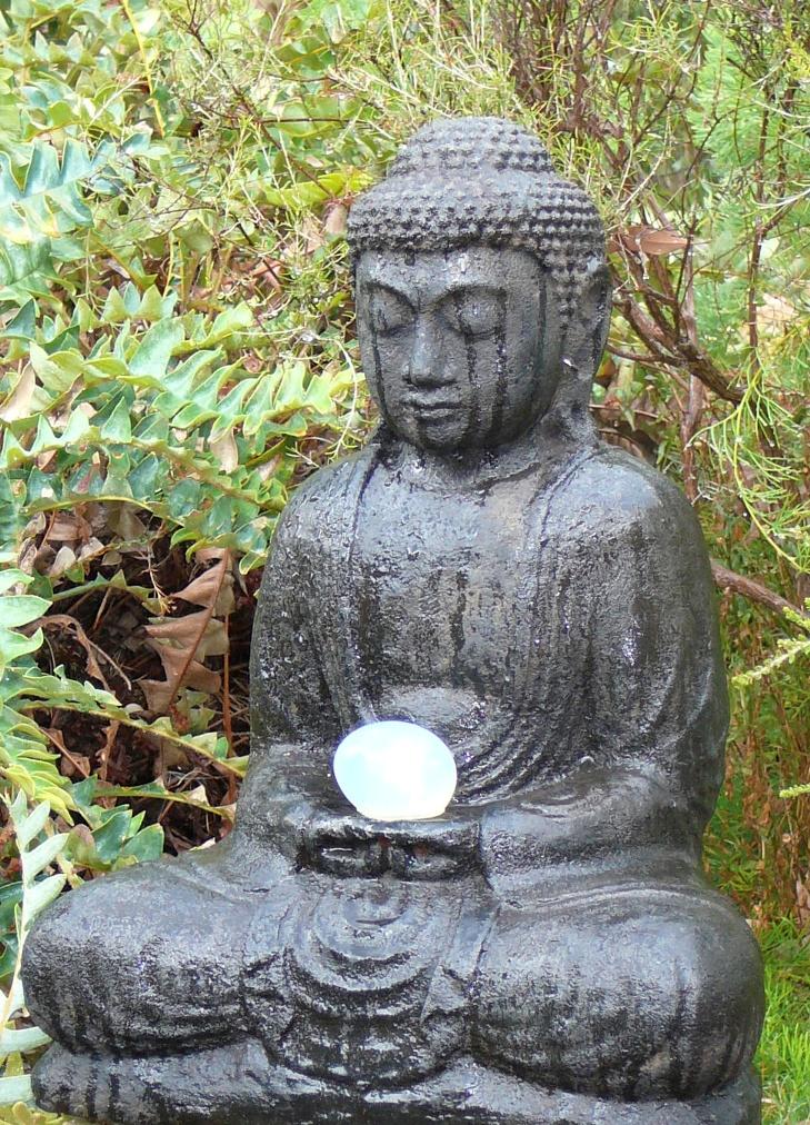 Buddha in Garden 729 x 1012