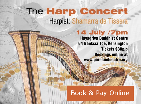 The Harp Concert 14 Jul 2018 | Pure Land Centre